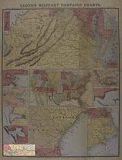 Lloyd's Military Campaign Charts: Map of Mississippi River